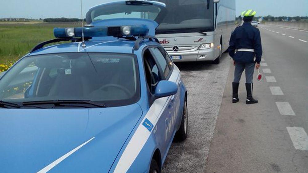 Controlli di Pasquetta della Polstrada di Brindisi-2